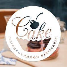 Cake Logo on Behance - Desserts Cupcake Logo, Cake Logo Design, Bakery Design, Cake Branding, Logo Branding, Bakery Packaging, Corporate Branding, Logo Panaderia, Pastry Logo