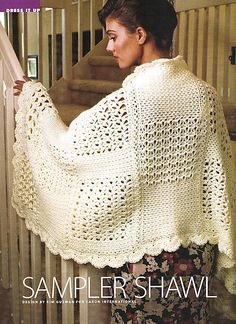 Sampler Shawl free pattern