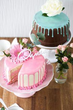 Kauniit kesäiset täytekakut Cake, Desserts, Food, Tailgate Desserts, Deserts, Kuchen, Essen, Postres, Meals