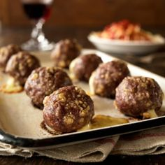 Meatballs in a Mushroom Sauce (They're Freezable, too!)