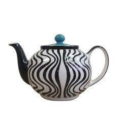 Wave teapot by Whittard of Chelsea