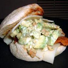Cashew Avocado Chicken Salad
