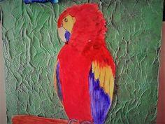 Parrot, Paintings, Bird, Animals, Parrot Bird, Animaux, Painting Art, Animales, Painting