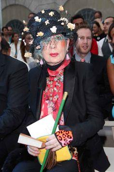 Anna Piaggi's Incredible Wardrobe Faces Uncertain Future - Fashionista