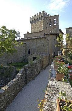 Castello Di Gargonza, Arezzo, Tuscany, Italy