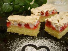 Ribezľový koláč so snehom - recept | Varecha.sk