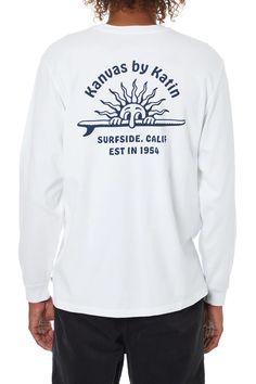 Men's Organic Cotton Graphic Tees - Katin USA Surf Outfit, Clothing Company, Sunnies, Organic Cotton, Graphic Tees, Shorts, Sweatshirts, Long Sleeve, Mens Tops