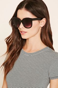 970d28ad44 A pair of oversized sunglasses featuring round gradient lenses.   accessorize Shop Forever