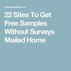 Real Free Samples Without Surveys! Explore Our Directory Free Stuff With No Surveys Online Updated Daily. Let Us Show You How To Get Free Stuff Now! Free Samples Without Surveys, Free Samples By Mail, Free Makeup Samples, Free Stuff By Mail, Get Free Stuff, Free Samples Canada, Couponing For Beginners, Couponing 101, Freebies By Mail
