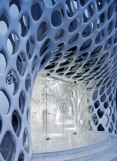 Love this entry. The Romanticism Shop in Hangzhou, China by SAKO Architects