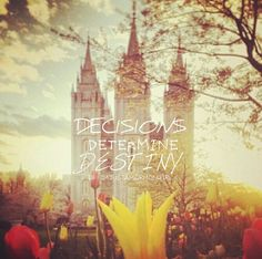 This is my goal in life, to one day enter the temple righteously n be with my eternal companion forever. <3