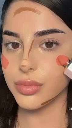 Nose Makeup, Eyebrow Makeup Tips, Makeup Tutorial Eyeliner, Edgy Makeup, Makeup Eye Looks, Eye Makeup Art, Contour Makeup, Skin Makeup, Hair And Makeup