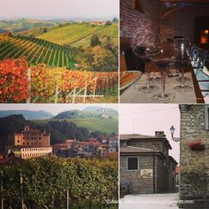 Explore Langhe -Italy:wine,vineyards,castles =an Unesco heritage landscape #langhe #travel #italy #italia #wine