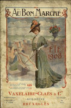 Au Bon Marche 1908 Catalogue
