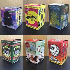 Our Kidrobot blind box assortment is on point right now! Tons of great new arrivals like the Mishka & Andy Warhol Dunnies, Frank Kozik Kibbles n' Labbits, Nickelodeon Teenage Mutant Ninja Turtles & the #AmandaVisell Ferals. What's your favorite series...? $10-$12 #kidrobot #blindbox #vinyltoys #streetwear #MODA3 #dunny #warhol #kozik #amandavisell #mishka #TMNT #toys