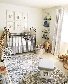 Gender Neutral Safari Nursery