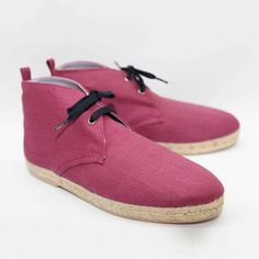 Lille Espadrilles Men's Plum, 99€, now featured on Fab.