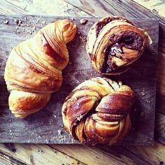 Breakfast pastries from @anneauchocolat: http://instagram.com/p/haP1Aqx8AE/