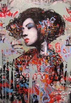 http://lespapierscolles.wordpress.com/2013/03/25/hush/  Hush street art