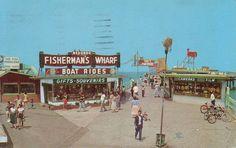 REDONDO BEACH PIER 1962 by Ron Felsing, via Flickr