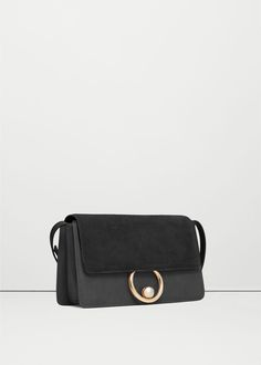 Leather flap bag - Bags for Woman | MANGO USA