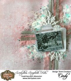 **Swirlydoos** All that Glitters -Kaisercraft - Silver Bells Collection - Christmas Christmas Wishes, Christmas Cards, Scrapbook Pages, Scrapbooking Ideas, Scrapbook Kit, Scrapbook Layouts, Found Object Art, Winter Cards, All That Glitters