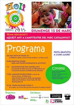 HOLI SABADELL (BARCELONA) 2015 - LA MILLOR FESTA DE HOLI DE CATALUNYA!!