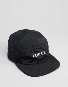 Obey | Obey 5 Panel Cap In Nylon
