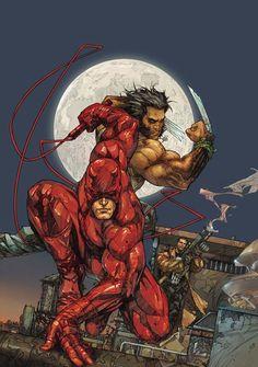 Daredevil Wolverine Punisher