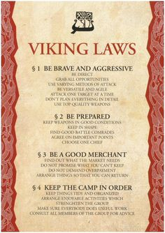Viking Laws - TAKEN! | koprakardulas (SusaTiina) | Flickr