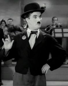 'I love you' signs of Charlie Chaplin <3