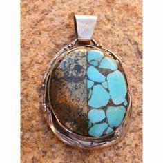 olgante mosaico piedra turquesa y pirita. colgante plata,piedra turquesa,pirita plata rustica,mosaico
