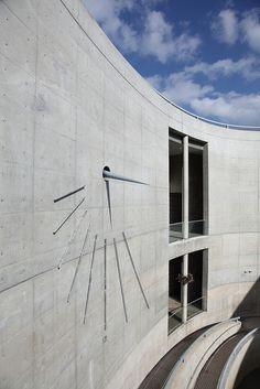 Sundial, Awaji Yumebutai, Awaji, Hyogo, Japan. Work of Tadao Ando