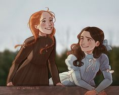 what's the plan stan? Anne Of Green Gables, Drawing Sketches, Art Drawings, Dibujos Tumblr A Color, Gilbert And Anne, Anne White, Gilbert Blythe, Anne Shirley, Dibujos Cute