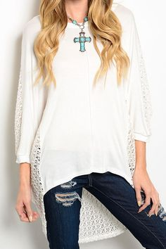 A New Clothing Top - Hi Lo Crochet Style