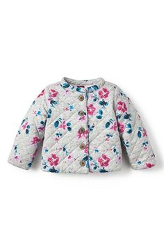 Tea+Collection+'Tarija'+Quilted+Jacket+(Baby+Girls)+available+at+#Nordstrom