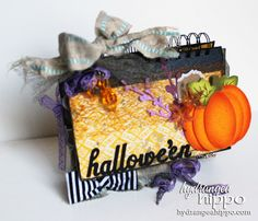 Check out this fun Halloween book featuring cool products from Tombow! | May Arts/ Tombow Week- Oooooh Hallowe'en with Jennifer Priest - Tombow USA Blog