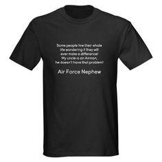 Air Force Nephew Shirt #cafepress #airforcenephew