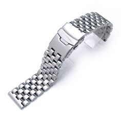 20mm Polished Engineer Solid Link 316l Stainless Steel Watch Bracelet Band 20mm Metal Band http://www.amazon.com/dp/B005K2SIKC/ref=cm_sw_r_pi_dp_Na9Rwb1EGRB0M