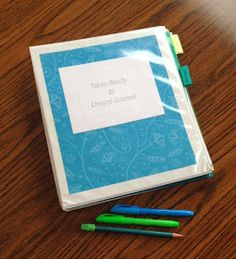 DIY Bible Study and Prayer Journal: Part 1