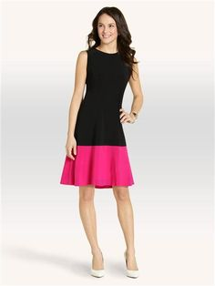 Isaac Mizrahi New York Colour Block Shift Dress $89