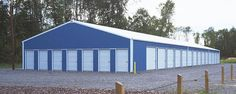 Commercial Building Profile  Use: Commercial post-frame building  Size: 42' x 110' x 9' per building