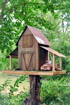 40 Beautiful Bird House Designs You Will Fall In Love With - Bored Art #birdhouses #birdhouseideas #birdhousetips