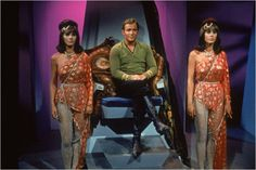 kirk with two robots