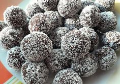 Hungarian Desserts, Truffles, Sweet Recipes, Blueberry, Nom Nom, Recipies, Food And Drink, Sweets, Snacks