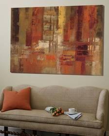 Loft Art: Sunset Street Crop by Silvia Vassileva : Abstract Canvas, Canvas Art, Canvas Prints, Art Prints, Modern Art, Contemporary Art, Acrylic Art, Pictures To Paint, Diy Art