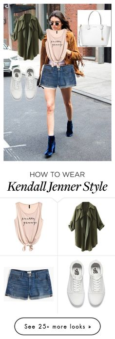 """Untitled #54"" by engineeringmalak on Polyvore featuring J.Crew, Vans and Michael Kors"