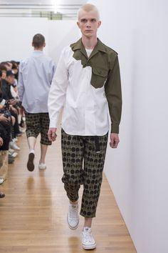 Comme des Garçons Shirt Spring 2017 Menswear Collection Photos - Vogue