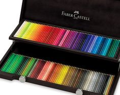 5 Top Colored Pencil Brands Reviewed: Faber-Castell Polychromos