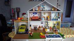 Maison playmobil en carton plume (playmobil house)